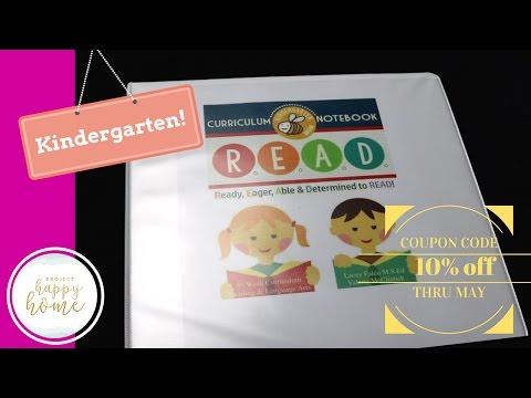 Kindergarten Reading Curriculum for 2017-2018 || READ Curriculum Notebook || The Crafty Classroom