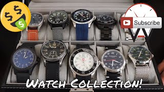 My Watch Collection and Giveaway!