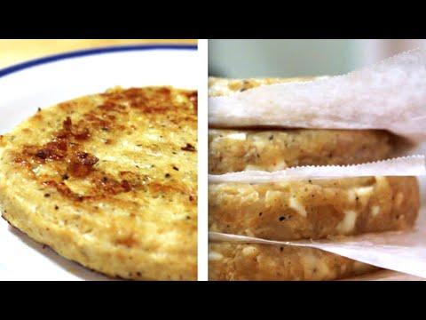 طريقة تحضير همبرجر الدجاج في المنزل برجر How To Make Chicken Burger Youtube
