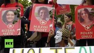 France: Thousands of Kurds protest against Turkish attacks on PKK