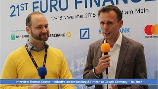 Meet Thomas, the Industry Leader Banking & Fintech Google Germany