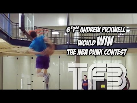 """6'1"""" Andrew Pickwell Behind the Back DUNK that would WIN the NBA Dunk Contest #SCtop10"""