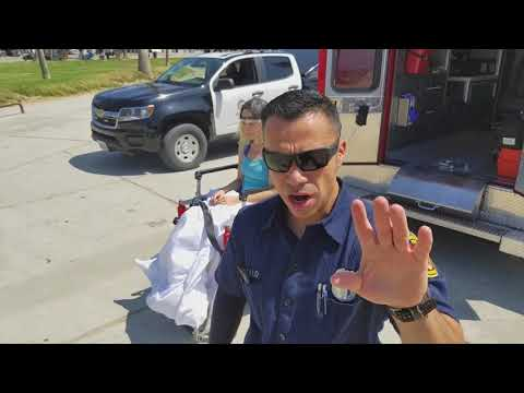 update LAFD fireman EMT  threatens to smash his cell phone women hit by lapd police car