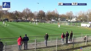B-Junioren: 1-1 Rodney Francis Peprah SV Waldhof Mannheim