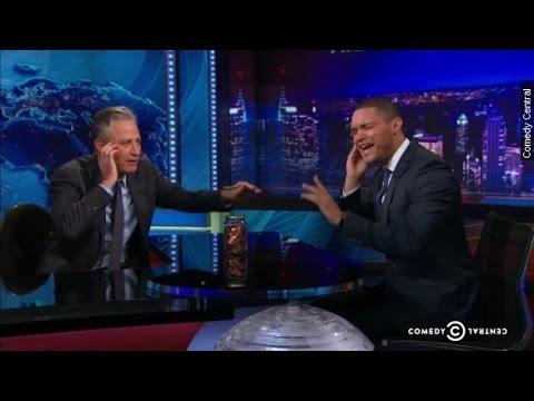 Trevor Noah Replacing Jon Stewart On The Daily Show Youtube