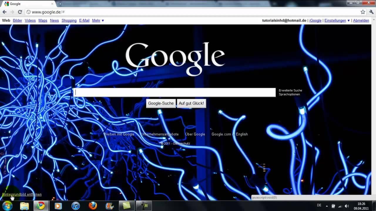 Google Bild ändern