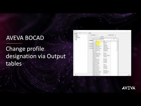 FAQ Tip #26: Change profile designation via Output tables [with captions]
