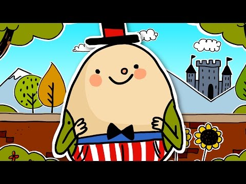 Humpty Dumpty | Nursery rhyme for kids