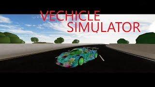 roblox vechicle simulator #1 robimy maclarena630sGT3