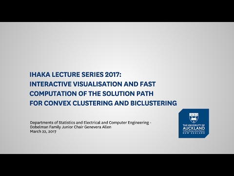 Ihaka Lecture Series 2017: Interactive visualisation and fast computation of the solution path