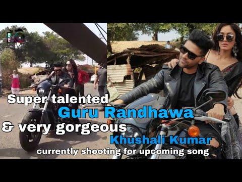 Raat Kamaal Hai | Guru Randhawa n very gorgeous Khushali Kumar currently shooting song