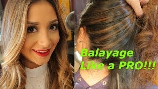 How to Balayage like a pro step by step Thumbnail