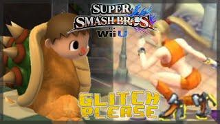 ZWEIDEUTIGE SAMUS-POSE?! | Super Smash Bros. 4 Wii U Glitches | MineZoneGermany