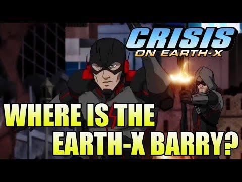Crisis on Earth X: Where is the Earth-X Barry Allen?