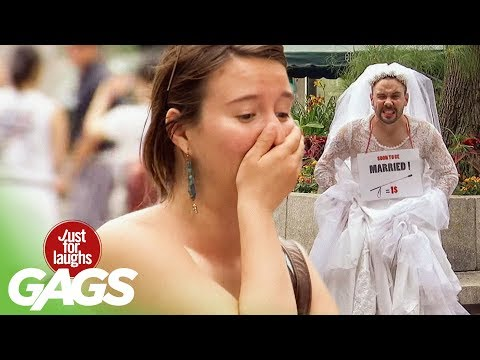 Bride-To-Be Gets Whipped Hard! - Just For Laughs Gags