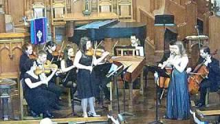 Double Concerto for Oboe & Violin in C Minor, BWV 1060 - Mvt 1 - Recital 2009