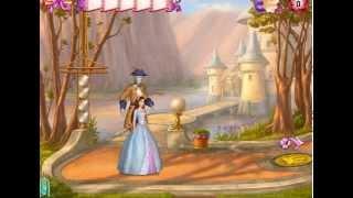 Принцесса и нищенка Барби - Прохождение уровня Украшение городского фонтана