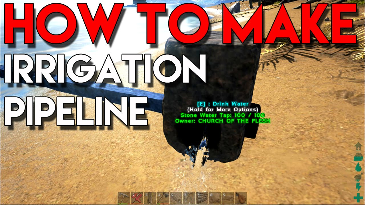 How to make a water supply