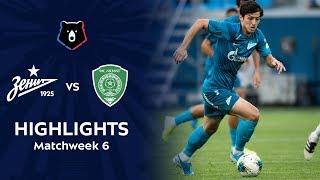 highlights Zenit vs Akhmat (0-0)