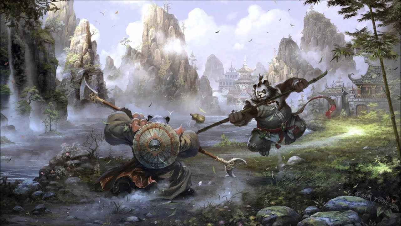 Awesome 3d Art Wallpapers Mists Of Pandaria Soundtrack 6 Way Of The Monk Youtube
