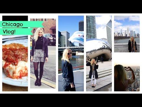 Chicago Travel Vlog; Hancock Tower, Shedd Aquarium, Billy Goat Tavern, Magnificent Mile | EmTalks