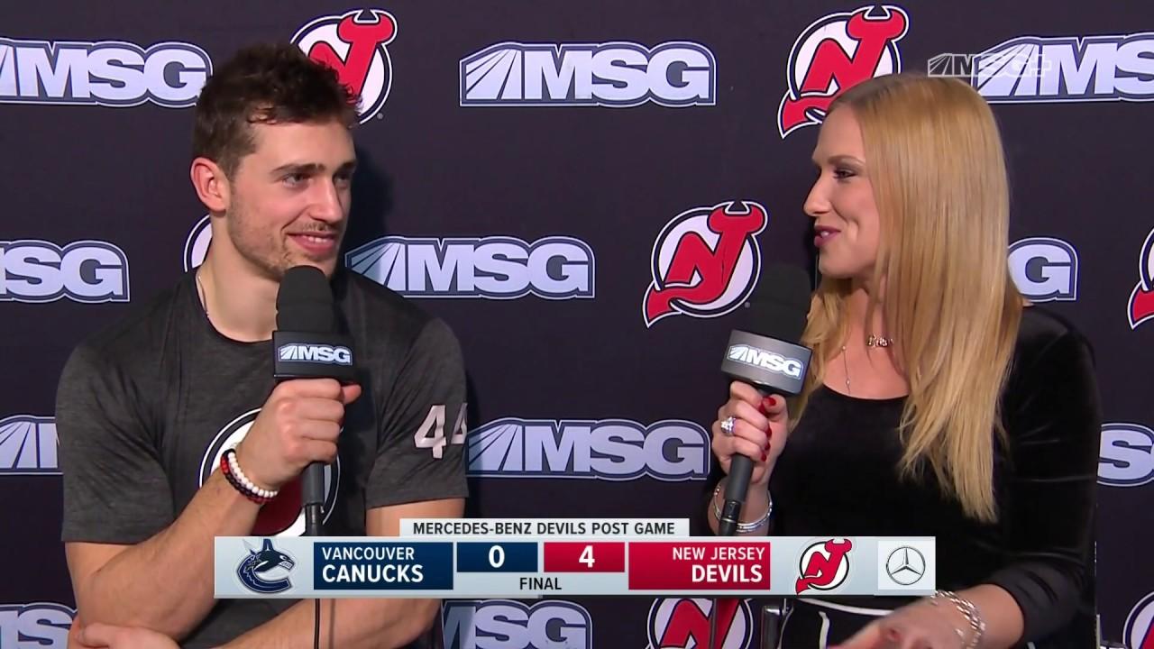 best website 5fba0 efee0 Miles Wood: Mackenzie Blackwood Is a Special Talent | New Jersey Devils  Post Game