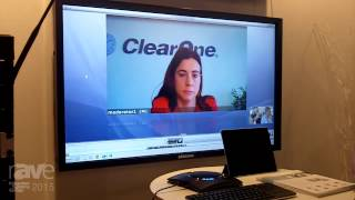 ISE 2015: ClearOne Explains Spontania Cloud-Based Solution.
