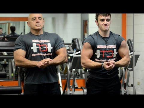 Father vs Son Bench Press Contest