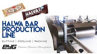 Helva Bar Hattı ve Otomatik Paketleme Besleme  Halwa Bar Line and package