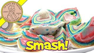 Giant Jawbreaker SMASH Time! Candy Disection With Saws and Hammers :)
