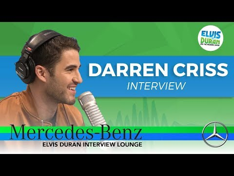 Darren Criss on Playing a Murder | Elvis Duran Show