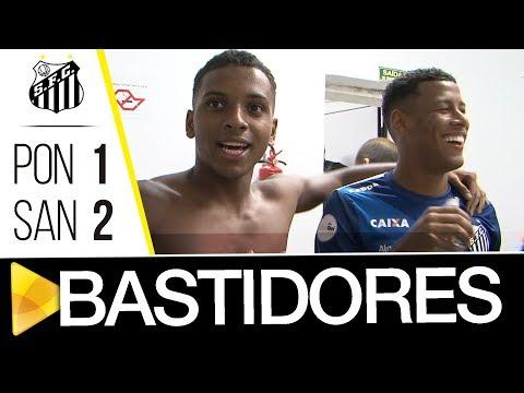 Ponte Preta 1 x 2 Santos | BASTIDORES | Paulistão (25/01/18)