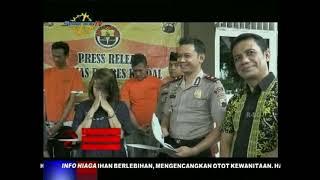 Pemberantasan Narkoba, POLRES Kendal Tangkap Enam Pengedar Sabu Sabu dari Malaysia