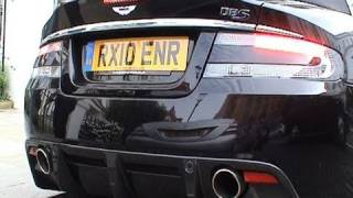 Aston Martin DBS Volante Start and Drives Off