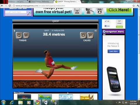 How To Beat QWOP the worst running game EVER