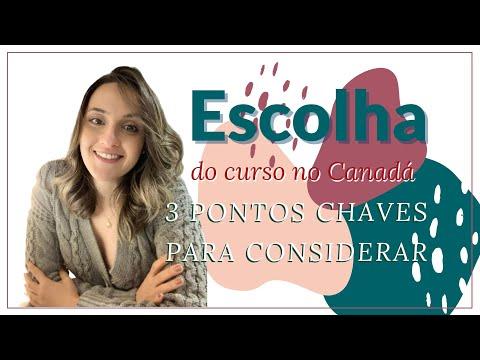 3 PONTOS CHAVE NA ESCOLHA DO CURSO NO CANADÁ
