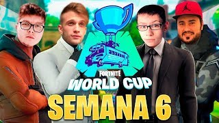 🔴 Clasificatorio FINAL DUOS Fortnite World Cup [EU,BR,NA] - Semana 6 !cofre !miembro !codigo - StarK