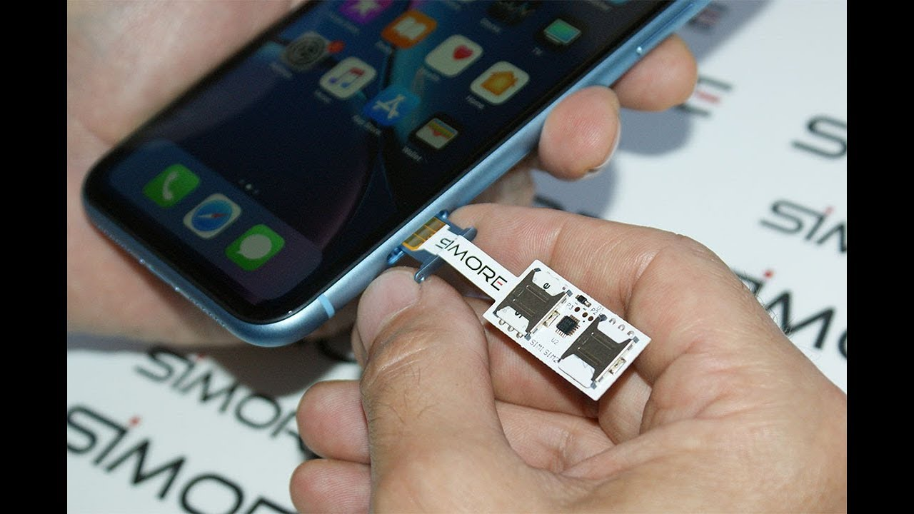 iPhone XR dual sim adapter SIMore Speed Xi Twin XR