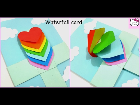 How to make Waterfall Card