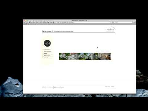 CSS-Transformationen Auf Live-Website Der Salitergasse