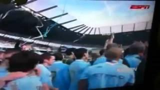 manchester city wins qpr premiership cup ceremony qpr 2 3 mc