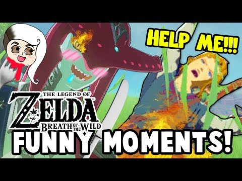 ARE THE ZORAS CANNIBALS?! (Zelda: Breath Of The Wild Funny Moments)