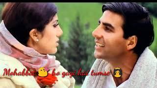 Dhadkan movie best Romantic whatsapp status video | Dil ne Ye Kha hai Dil se song
