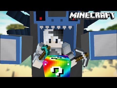 ลัคกี้บล็อค VS สัตว์ประหลาดในตำนาน [Minecraft Lucky block survival]