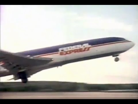Classic Federal Express TV Commercial 1986