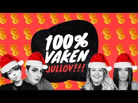 100% Vaken Jullov med Anty, Sara Songbird, Lakidoris och Amir
