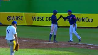 Highlights: Chinese Taipei v Brazil - U-15 Baseball World Cup 2018