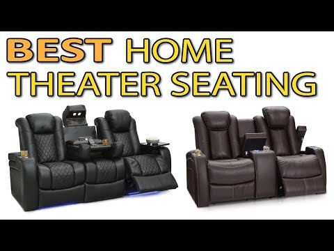 The Best Home Theater Seating - Top 10 Home Theater Seating Reviews