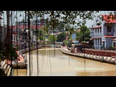 Melaka Historical City - Malaysia Travel Video - HD 720p