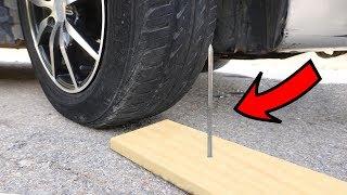 EXPERIMENT: CAR vs VERY LONG NAIL
